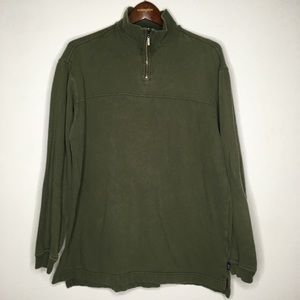 Vintage Levi's Green Pullover Sweatshirt Size M